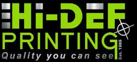 Hi Def Printing