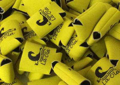 koozie yellow